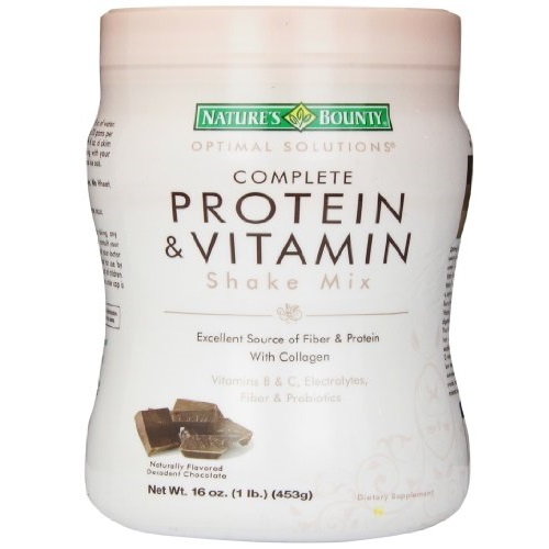 Nature's Bounty Optimal Solutions Protein & Vitamin Shake Chocolate