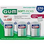 GUM 洁牙牙尖刷,270根