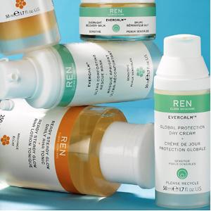REN Skincare: 精选天然有机护肤低至6折