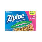 Ziploc 零食袋,280个装