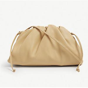 BOTTEGA VENETA The Pouch leather clutch