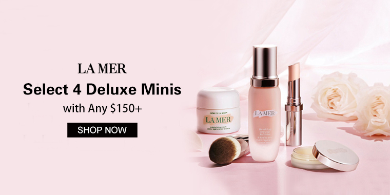 La Mer: Select 4 Deluxe Minis with Any $150+