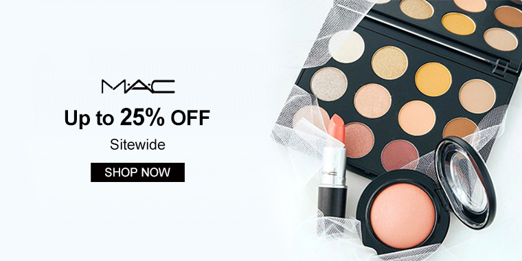 MAC Cosmetics: Up to 25% OFF Sitewide