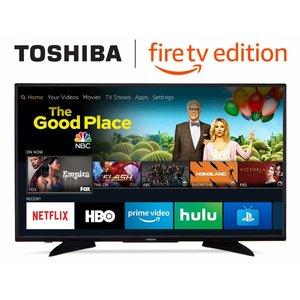 Toshiba东芝 32LF221U19 32英寸 720p 智能电视 自带Fire TV $129.99 免运费