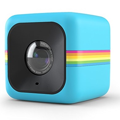 Polaroid Cube Act II HD 1080P Mountable Weather-Resistant Lifestyle Action Video Camera (Blue) 6MP Still Camera w/ Image Stabilization, Sound Recording