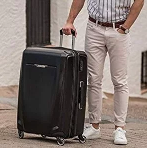 Samsonite Winfield 3 DLX Hardside Luggage with Spinner Wheels $114.99