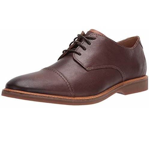 Clarks Men's Atticus Cap Oxford