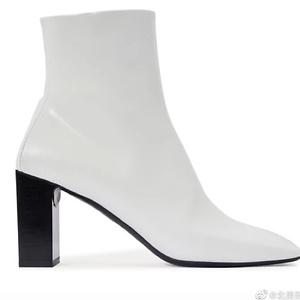 Balenciaga White Boots