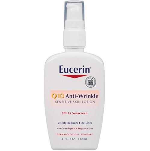 史低价!Eucerin 优色林 Q10 SPF 15 抗皱防晒乳液,4oz