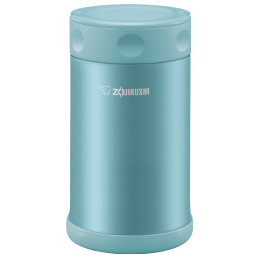 Zojirushi Stainless Steel Food Jar 25 oz. / 0.75 Liter, SW-FCE75-AB, Aqua Blue