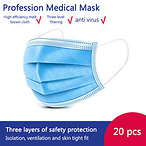 20pcs Medical Mask Face Masks