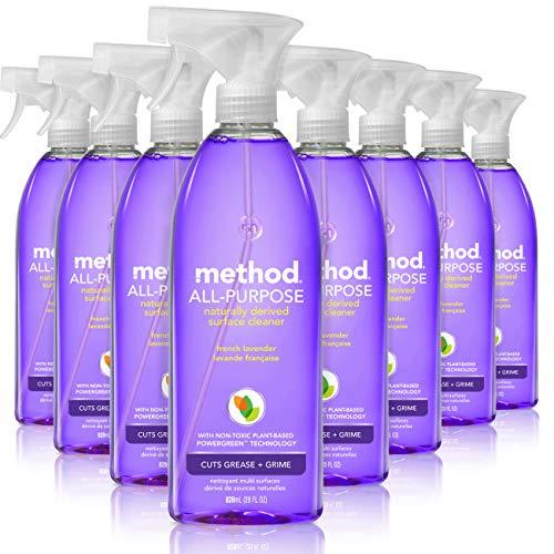 Method 多功能天然清洁剂,薰衣草香型,28 oz/瓶,共8瓶