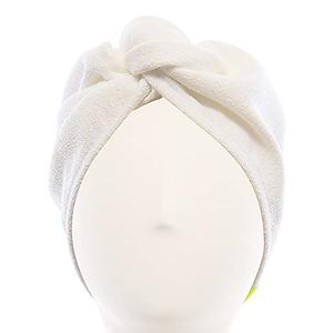 Aquis 干发帽白色史低价额外7折