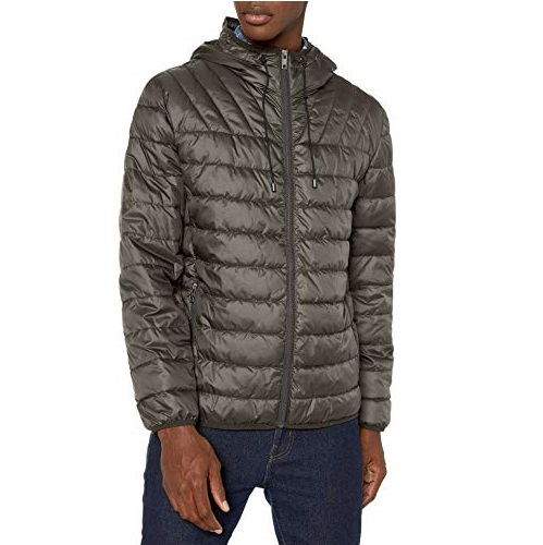 Marc New York by Andrew Marc Men's Dunmore, Cement, Large