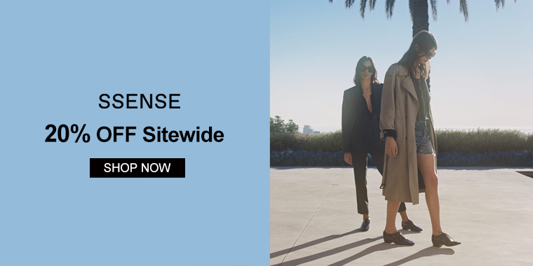 SSENSE: 20% OFF Sitewide