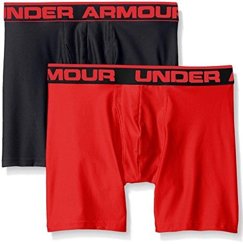 史低价!UNDER ARMOUR 安德玛经典 Boxerjock内裤,2条装,