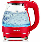 OVENTE Electric Kettle 1.5 Liter Tempered Borosilicate Glass BPA-Free