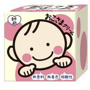TO-PLAN 儿童面霜 婴幼儿护肤霜 弱酸性无香料 110g 特价