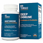 Dr Tobias Deep Immune Probiotic & Prebiotic 4.4 Billion CFUs
