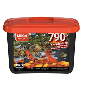 Mega Construx Large Probuilder Tub with 790-Pieces