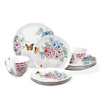 Lenox 12 Piece Butterfly Meadow Hydrangea Set