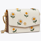 ROBINSON EMBROIDERED MINI SHOULDER BAG