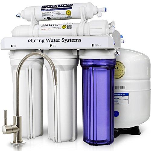 好价!iSpring 75GPD 5级饮用水净化系统