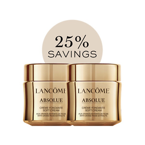 Lancome ABSOLUE REVITALIZING & BRIGHTENING SOFT CREAM DUO