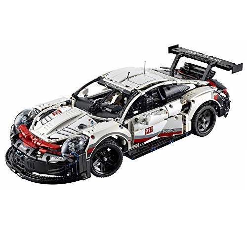 LEGO Technic Porsche 911 RSR 42096 Building Kit , New 2019 (1580 Piece)