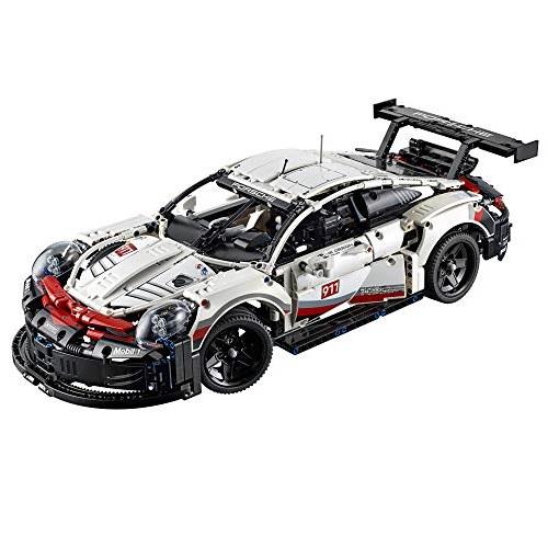 LEGO 乐高Technic 机械组42096 Porsche 911 RSR 模型车套装