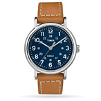 Weekender 2-piece 40mm Leather Strap Watch