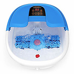 Foot Spa/Bath Massager with Bubbles and Lights