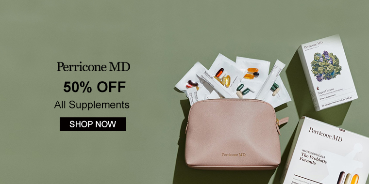 Perricone MD: 50% OFF Supplements + 25% OFF Sitewide