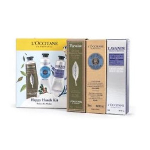 L'Occitane ($72 Value) L'Occitane Happy Hands Hand Lotions Kit, 6 Pc Gift Set