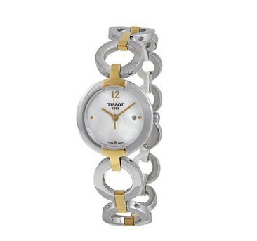 Tissot T-Lady Trend Pinky Mother of Pearl Dial Ladies Watch T0842102211700