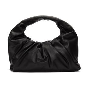 Bottega Veneta  Black Small Shoulder Pouch Bag