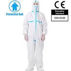 Hazmat Coverall 防护服 EN14126