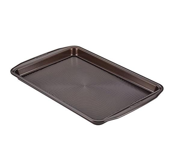Circulon 46008 Nonstick Bakeware, Nonstick Cookie Sheet / Baking Sheet - 10 Inch x 15 Inch, Chocolate Brown