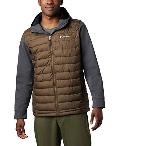 白菜!Columbia 哥伦比亚 Powder Lite 热反射 户外男式连帽保暖棉服夹克