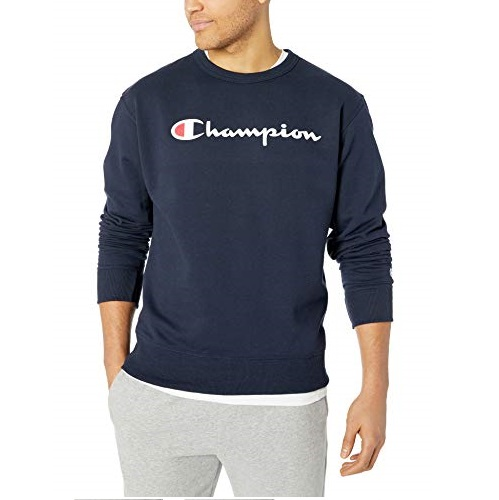 史低价!Champion Logo 男士长袖衫