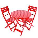 Jordan手工桌椅3件套