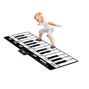 Click N' Play Gigantic Keyboard with 24 Keys, 8 Musical Instruments & Play/Record/Playback/Demo Modes