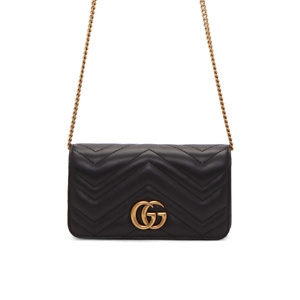 Gucci Black Quilted Marmont 2.0 Bag