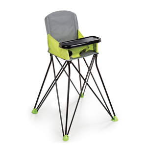 Summer Infant Pop 'N Sit Portable Highchair, Green