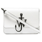 JW ANDERSON White & Black Anchor Logo Bag