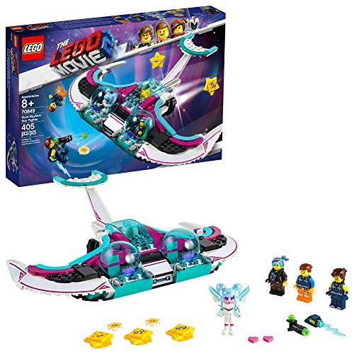 史低价!LEGO 乐高Movie 2 大电影系列70849 狂野妹—甜美梅亨星际战机