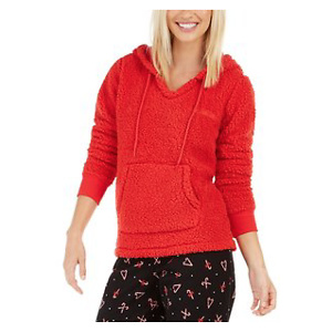 Jenni Women's Faux Sherpa Cozy Hoodie, Created For Macy's