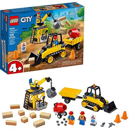 史低价!LEGO乐高 City城市系列60252 工程推土机
