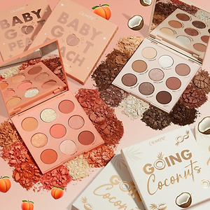 ColourPop peach colada palettes set 25% OFF
