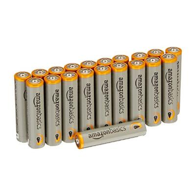 AmazonBasics AAA Performance Alkaline Batteries (20-Pack) - Packaging May Vary $4.52
